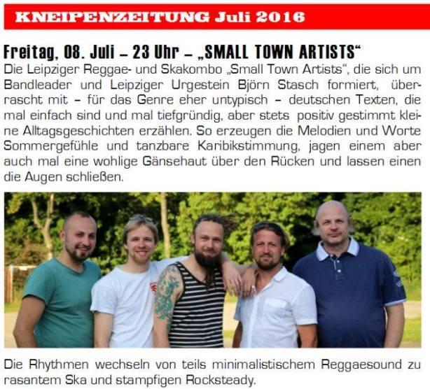 Kneipenzeitung - Frankfurt - Juli 2016