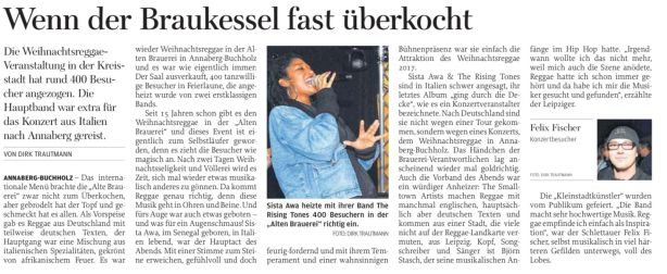 Freie Presse 28.12.2017