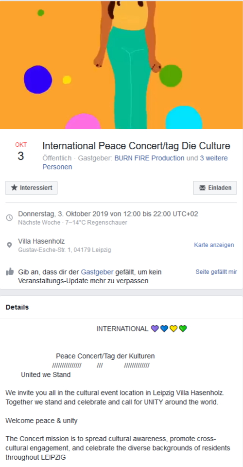 International Peace Concert